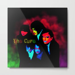 The Cur3 U.V Metal Print
