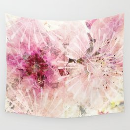 Pink is beautiful - 1 - Afternoon burst Wall Tapestry