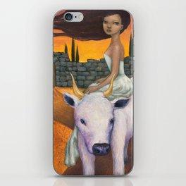 Taurus iPhone Skin