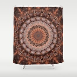 Mandala homely atmosphere Shower Curtain