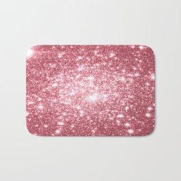 Pink Sparkle Stars Bath Mat