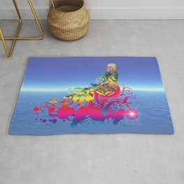New Age Travel Rug
