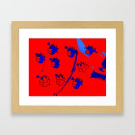 fish fry Framed Art Print