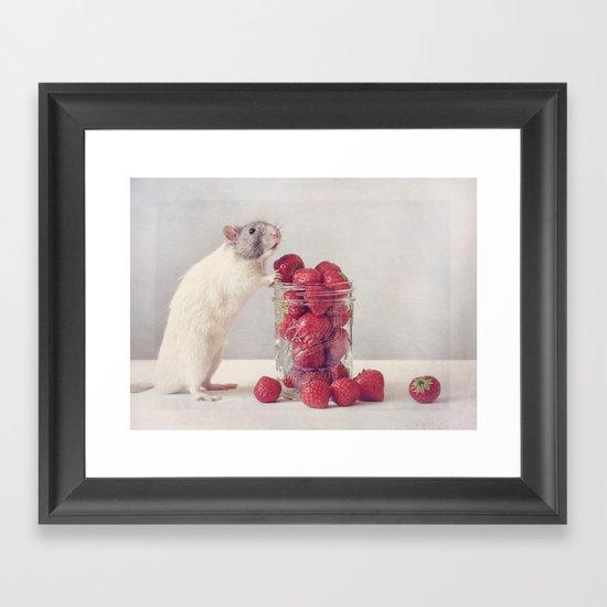Snoozy Framed Art Print