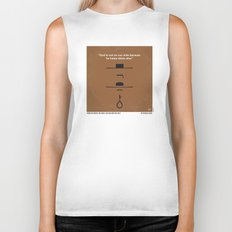 No090 My The Good The Bad The Ugly minimal movie poster Biker Tank