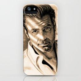 George Clooney II iPhone Case