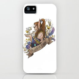 Lord of Time iPhone Case
