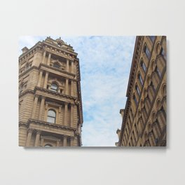 neoclassical architecture - little germany - bradford Metal Print