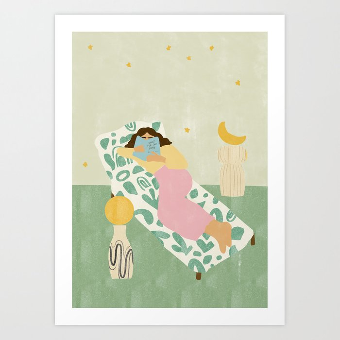 Shoot For The Stars Art Print