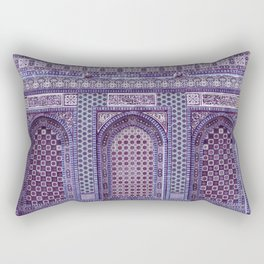 Jerusalem Temple Mosaic Rectangular Pillow