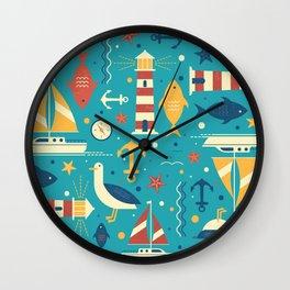 All At Sea Wall Clock