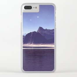 Imaginary world Clear iPhone Case