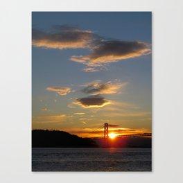and the sun rises again Canvas Print