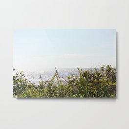 The Ocean Calls (Summer) Metal Print
