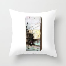 Meanwhile.. Landscape IV Throw Pillow