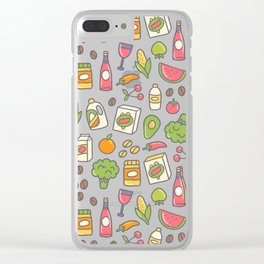 Shopping Clear iPhone Case