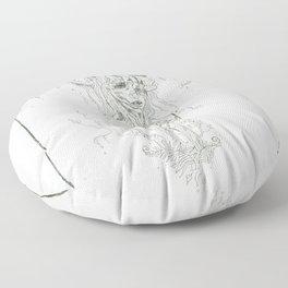 Earth to Bone Floor Pillow