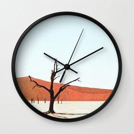 Deadvlei XII Wall Clock