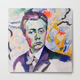 """Robert Delaunay """"Self-portrait"""" Metal Print"""