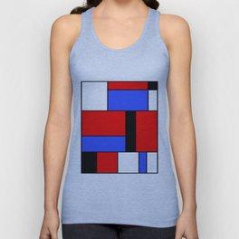 Mondrian #51 Unisex Tank Top
