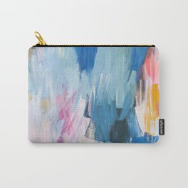 Abstract Neon Painting Carry-All Pouch