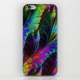Rainbow Leaves iPhone Skin