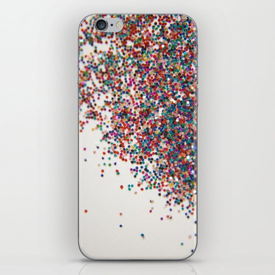 Fun II (NOT REAL GLITTER) iPhone & iPod Skin