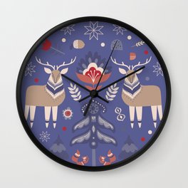 WINTER LANDSCAPE 2 Wall Clock