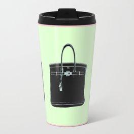 FRENCH BAG PINK/GREEN Travel Mug