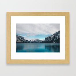 Lake Minnewanka, Canada #society6 #decor #buyart Framed Art Print
