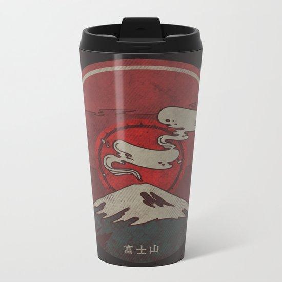 Fujisan Metal Travel Mug