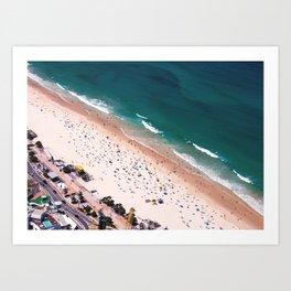 Day of Beach Art Print