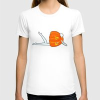 pumpkin T-shirts featuring Pumpkin by Nadina Embrey - Artist / Illustrator