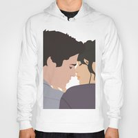 katniss Hoodies featuring Gale and Katniss by imsirius