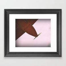 Aviones olvidados Framed Art Print