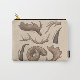 Antlers Carry-All Pouch