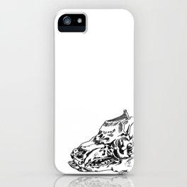 Pig Skull iPhone Case
