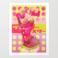 Akai Shoujo Art Print