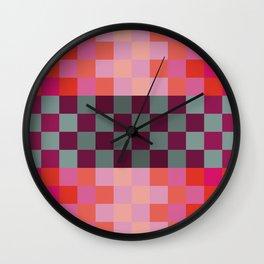 Red Paprika Wall Clock
