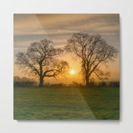 Winter Sunrise 3 Metal Print