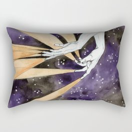 magic fingers in space Rectangular Pillow
