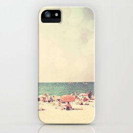 like something out of a beach boys song ...  iPhone Case