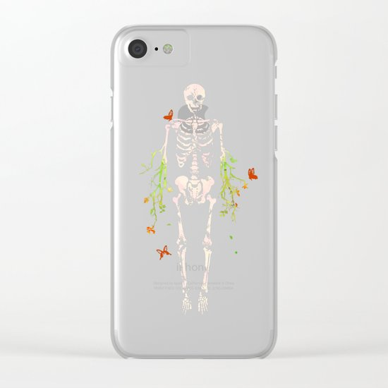 Dead is dead Clear iPhone Case