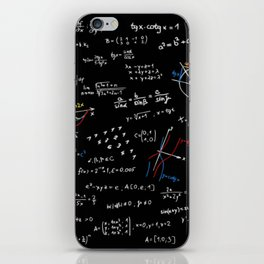 Math Equation iPhone Skin