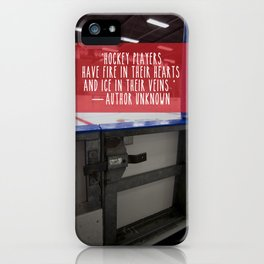 Hockey Passion iPhone Case