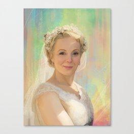 Mary Watson Canvas Print