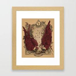 Crossword Framed Art Print