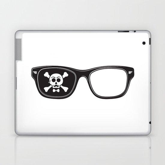 Hipster Pirate Laptop & iPad Skin