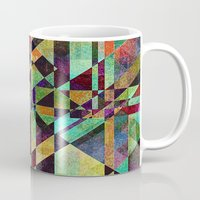 the fault Mugs featuring Fault Lines by Klara Acel