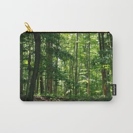 Pine tree woods Carry-All Pouch